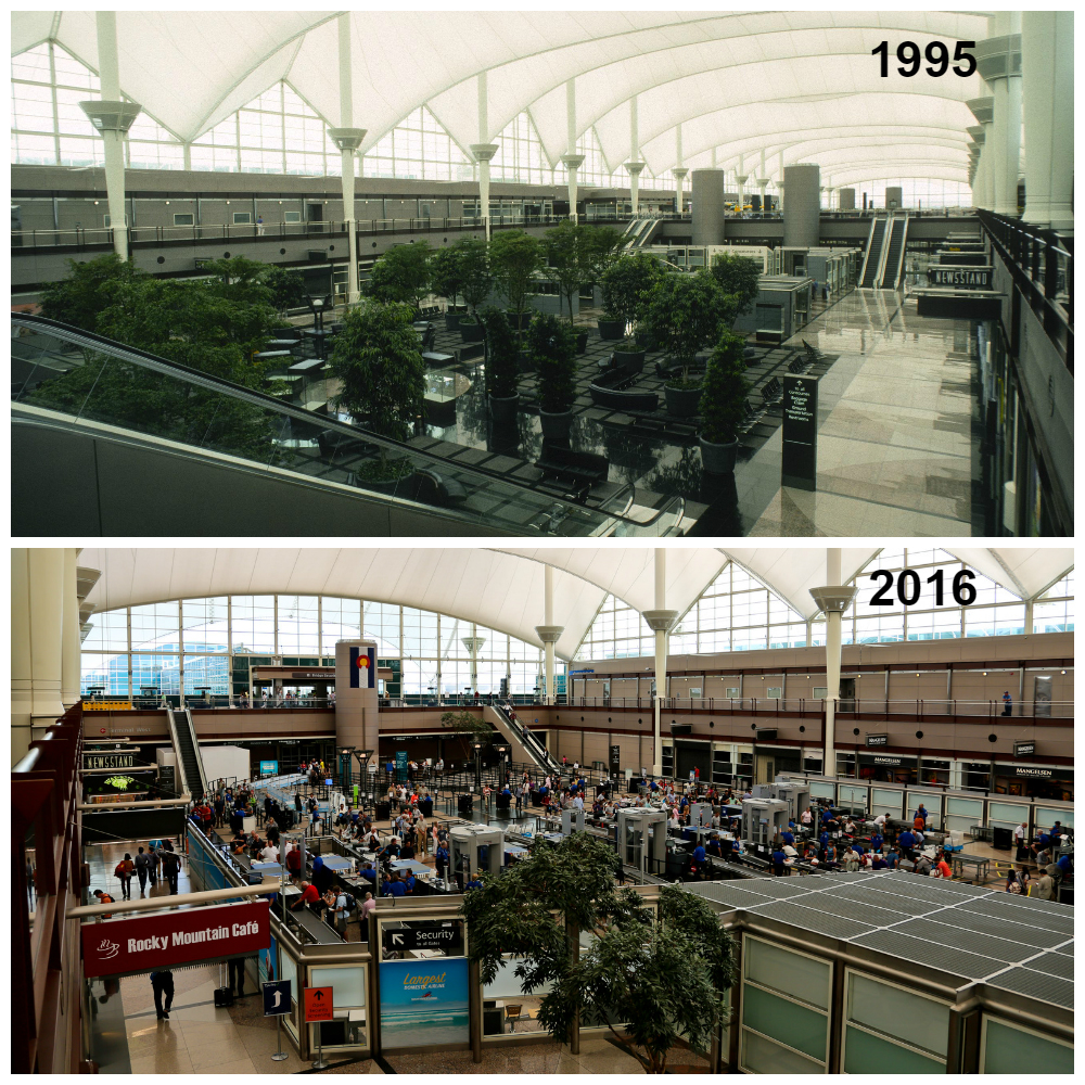 denver airport project A truly revolutionary design when the city of denver handed fentress the  project, the airport was behind schedule, over budget and had an unfavorable.
