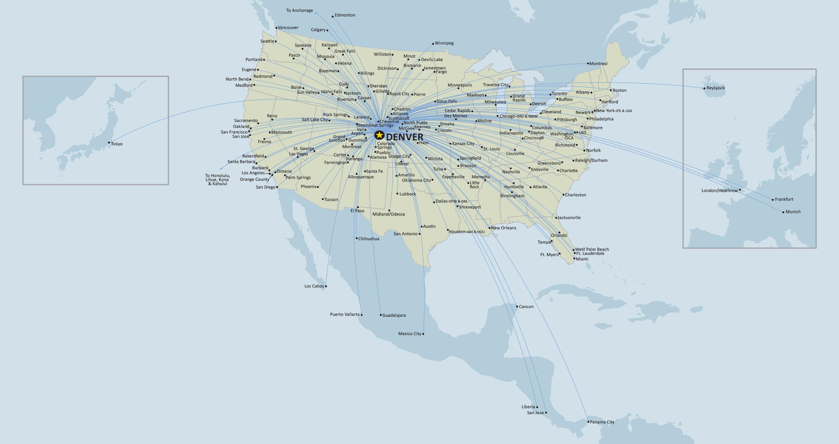 31 amazing Denver Airport Map Southwest bnhspinecom