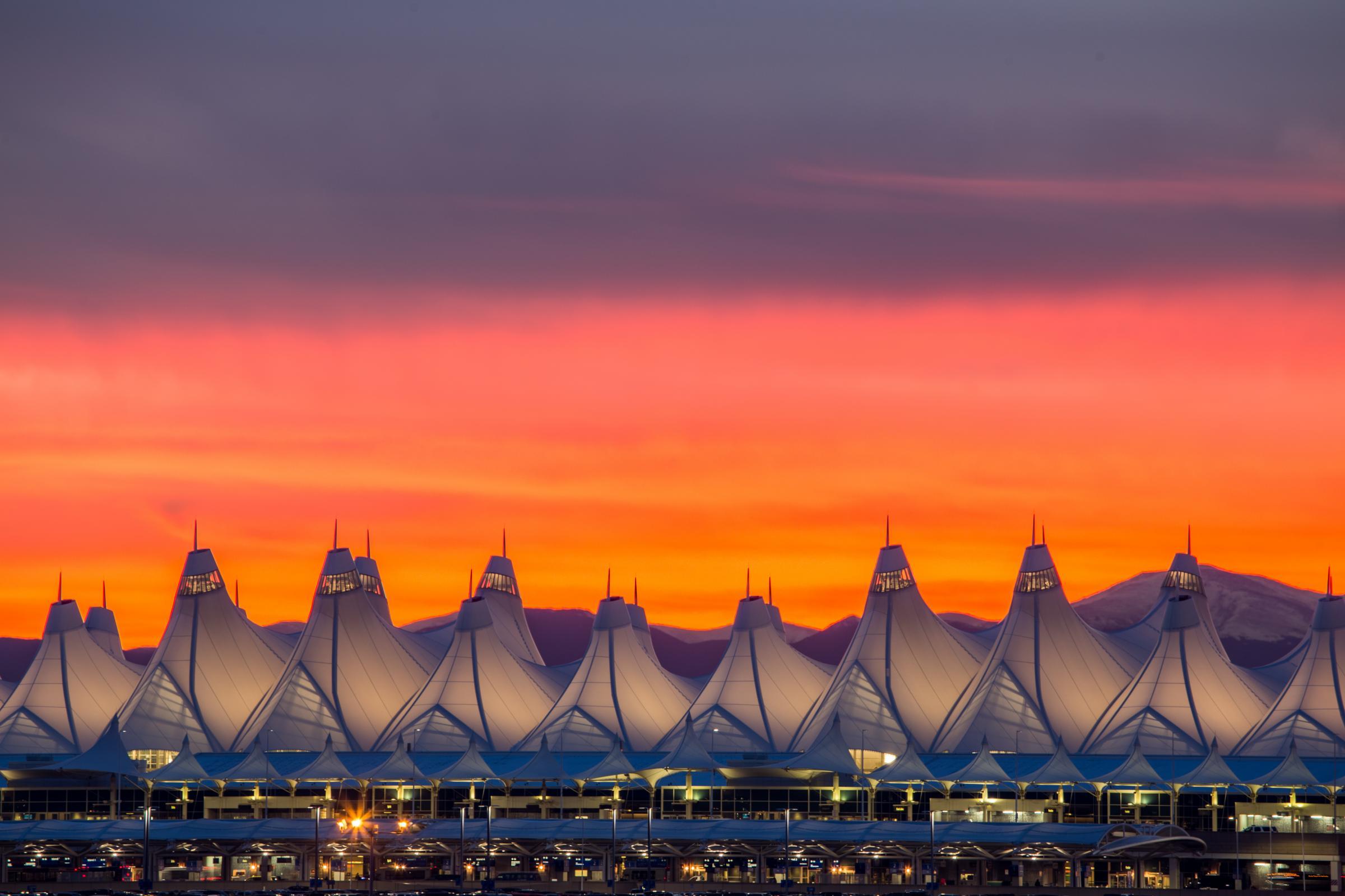 Welcome To Denver International Airport Denver