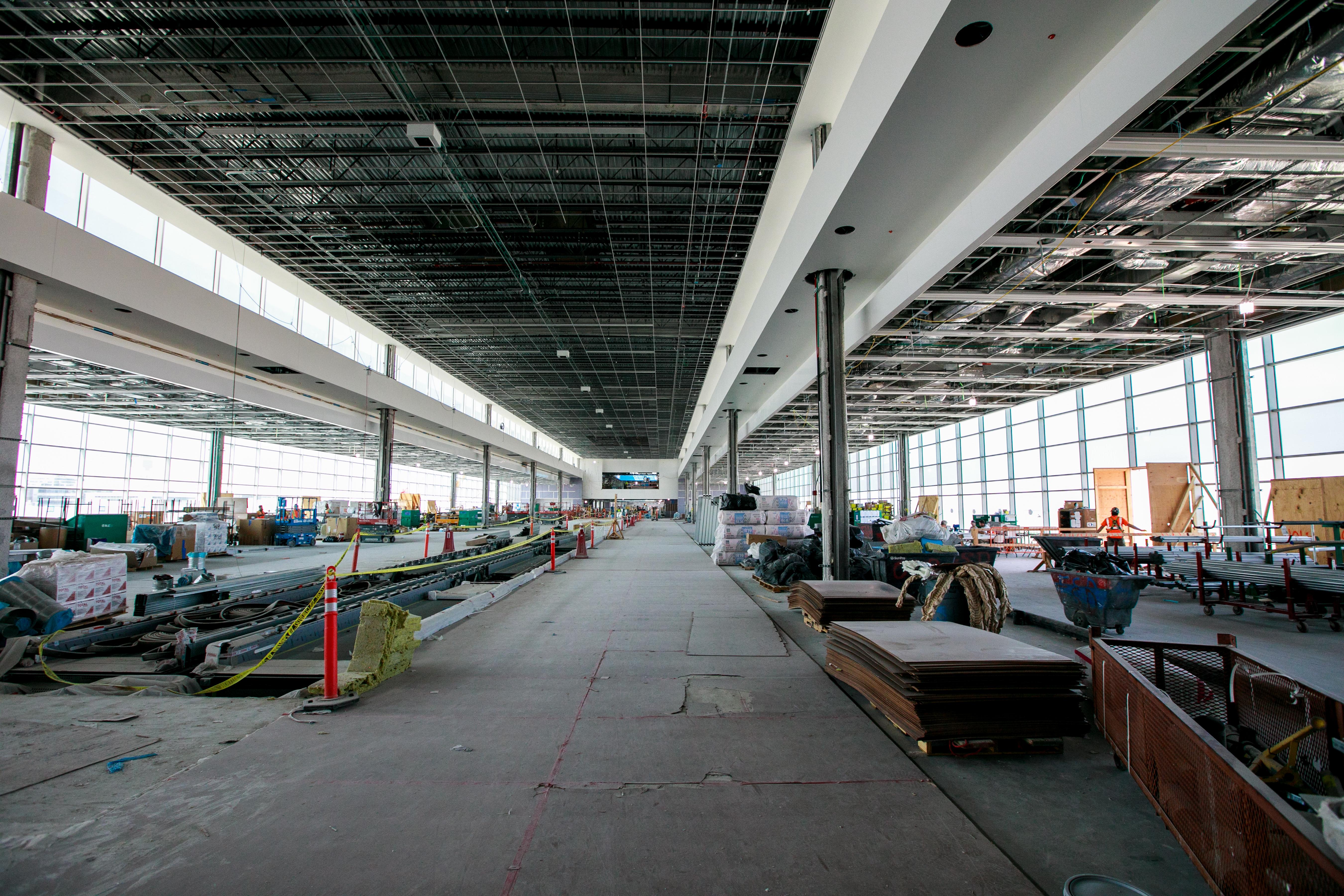 Gate Expansion C-East Construction