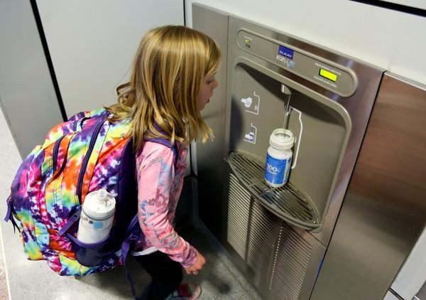 Water Bottle Filling Stations Denver International Airport
