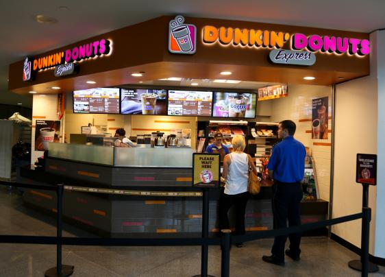 Dunkin Donuts Denver International Airport
