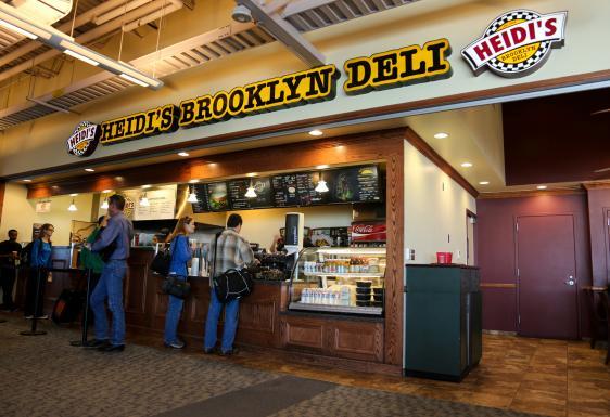 Heidi S Brooklyn Deli Denver International Airport