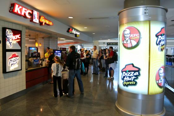 Pikes Peak Parking >> KFC Express/Pizza Hut Express   Denver International Airport