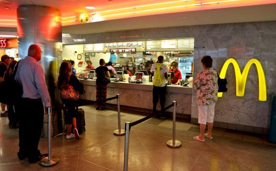 Mcdonald S Denver International Airport