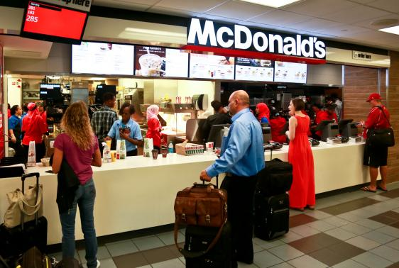 Mcdonalds Denver International Airport