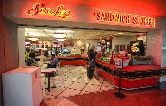 Featuring A Wide Selection Of Frozen Yogurt And Ice Cream Treats As Well Variety Sara Lee Sandwiches Salads