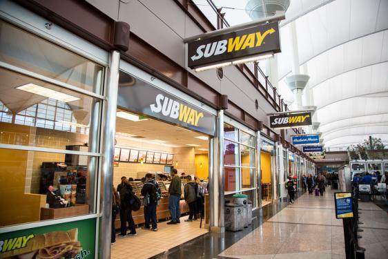 Subway Denver International Airport
