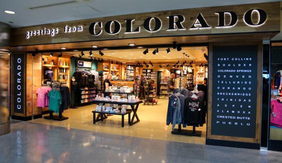 Greetings From Colorado Denver International Airport