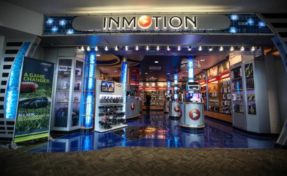 inmotion denver international airport. Black Bedroom Furniture Sets. Home Design Ideas